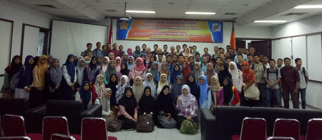 Sosialisasi Akreditasi IABEE Mahasiswa Angkatan 2016/2017